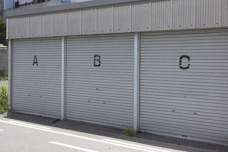 garage: Prefabricated garage