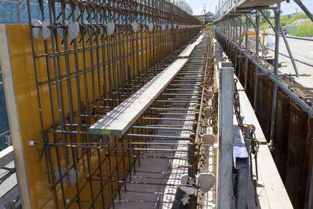 andamio: Andamio en una obra en construcci�n