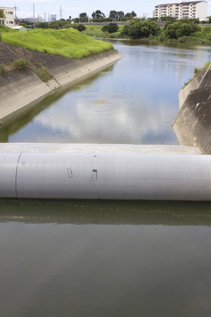 impervious: River tube type impervious wall