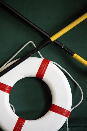 lifesaving: Life buoy