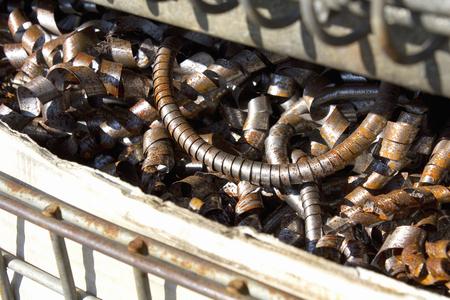 ferraille: la ferraille de fer de tour