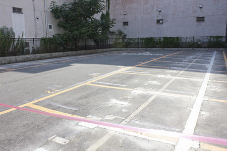 vacant lot: Vacant lot after you have removed the coin parking