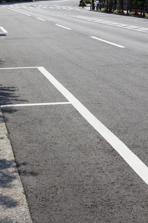 inorganic: The road was deserted urban holiday Stock Photo