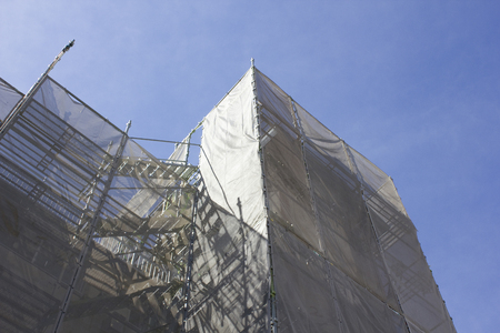 curing: Curing net apartment building site