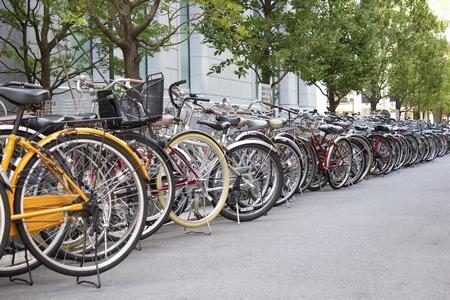 bike parking: Downtown bike parking