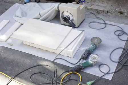 suction: Interior construction of Thunder and dust suction machine