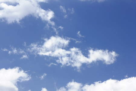 hygenic: White clouds floating in the blue sky poccari Stock Photo