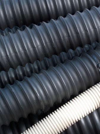 bundled: Industrial water hose corded