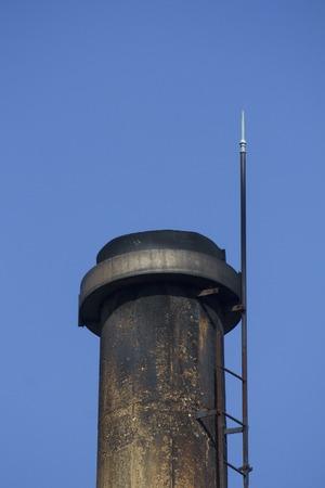 soot: Soot of public bath chimney
