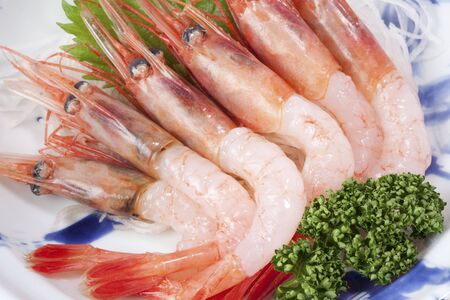 indulgent: Sweet shrimp shrimp
