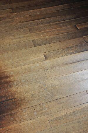 floorboards: Battered floorboards Stock Photo