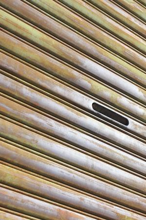 shutter: Rusted shutter