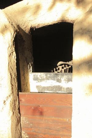 kiln: Kiln burning tile Stock Photo