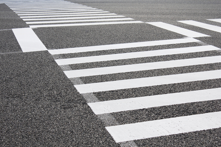 paso peatonal: scramble intersección del paso de peatones