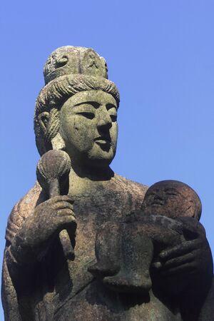 bodhisattva: Mercy Guanyin Bodhisattva Stock Photo