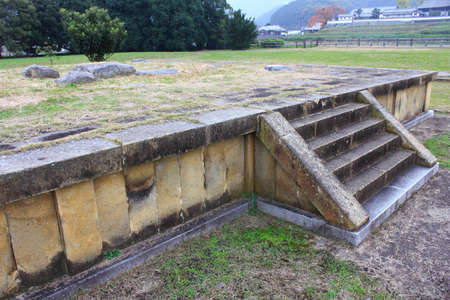 historic sites: Historic sites Kawahara Teraato Stock Photo