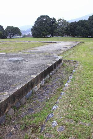 historic: Historic sites Kawahara Teraato Stock Photo