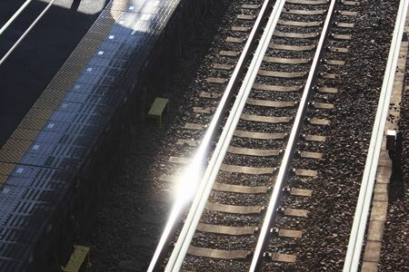 glimmer: Railway rails
