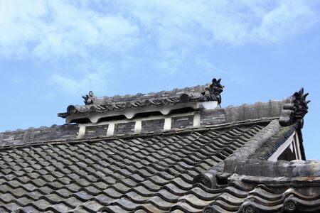 roof tiles: Houses of roof tiles
