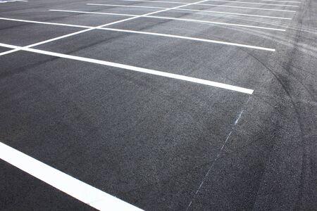 平面駐車場アスファルト