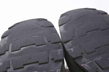 着用足足の裏