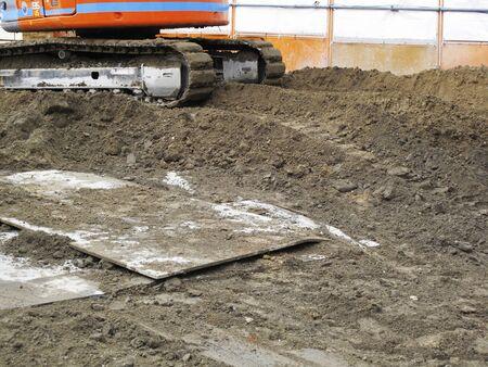 civil engineering: Civil engineering construction site