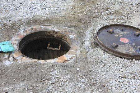 public works: Road manhole