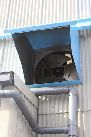 exhaust fan: Factory exhaust fan