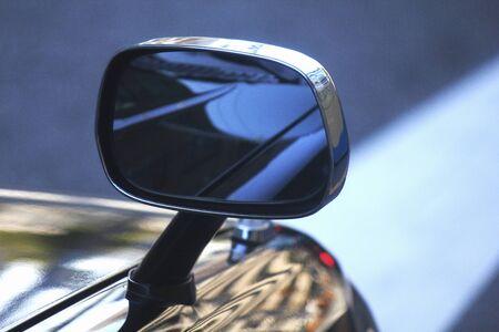passenger car: Passenger car fender mirror