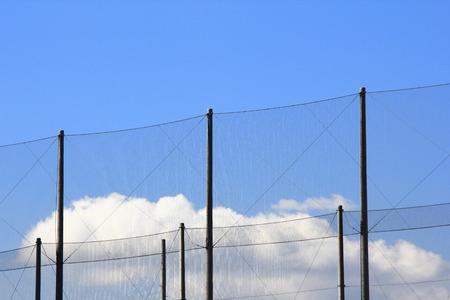 ゴルフ練習ネット 写真素材 - 47118033