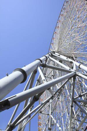 steel pipe: Ferris wheel of steel and steel pipe