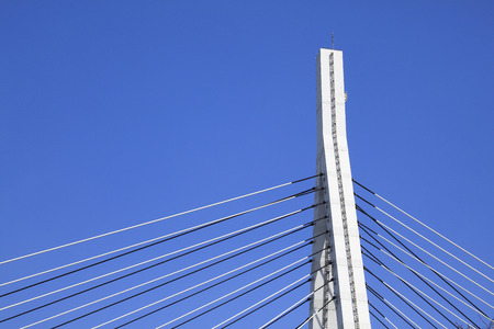 tense: Cable-stayed bridge