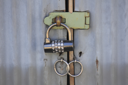 number lock: Number lock of warehouse and the door