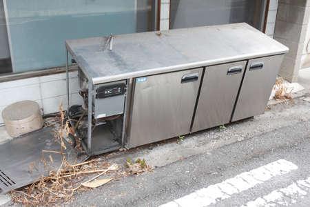 kitchen equipment: Illegal dumping of kitchen equipment