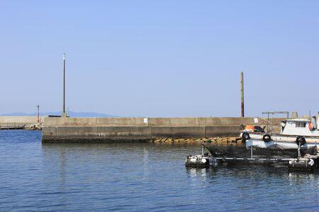 breakwater: Breakwater of the fishing port