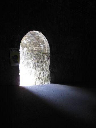 salidas de emergencia: Las salidas de emergencia en el túnel