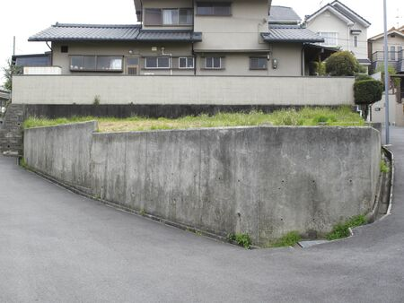 vacant land: Vacant land of residential land Stock Photo