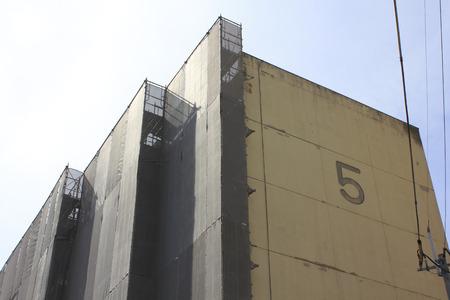Seismic renovation of housing Stock Photo