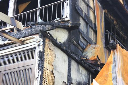 calamity: Fire scene