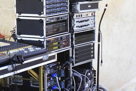 venue: Event venue audio equipment