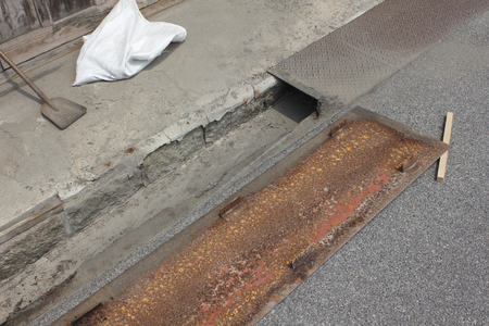 groove: Groove cleaning of the town of the road