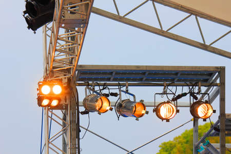 stage lighting: Events stage lighting