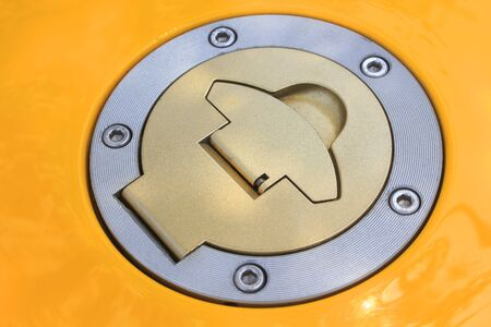 tanque de combustible: Depósito de combustible de la motocicleta
