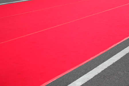 venue: Event venue red carpet Stock Photo