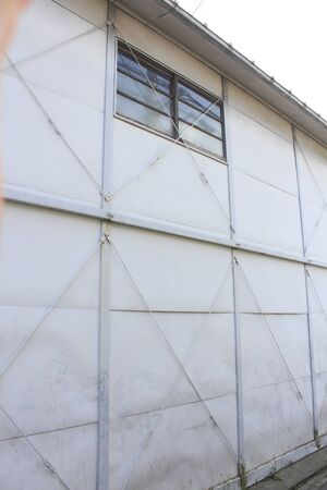 warehouse building: Building of prefabricated warehouse