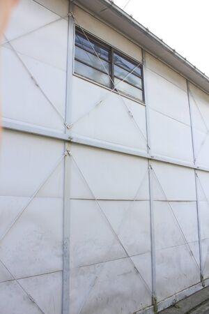 prefab: Building of prefabricated warehouse