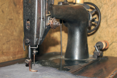 retro: Old sewing machine
