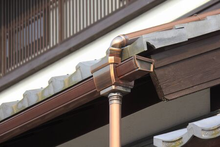 housing style: The advance in rain of Japanese-style building housing