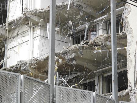 demolition: Building demolition removal