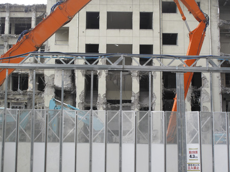 disassemble: Building demolition removal